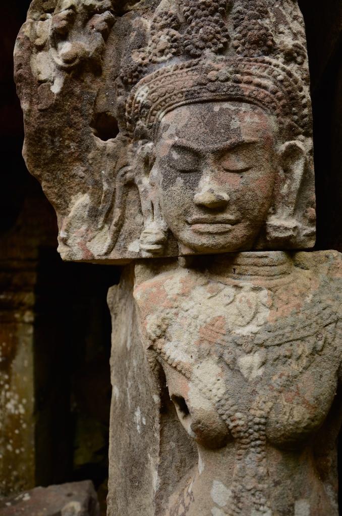 buddha in half cambodia