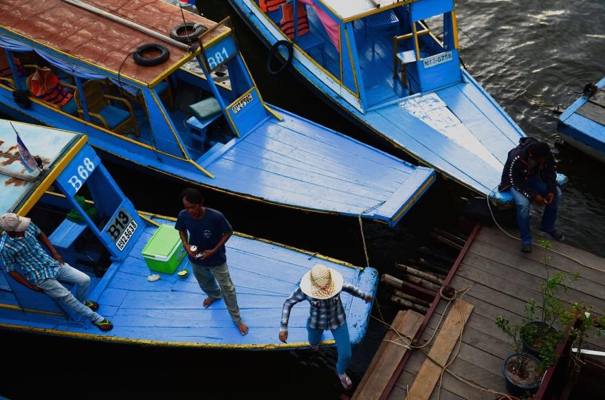 cambodia fisherman