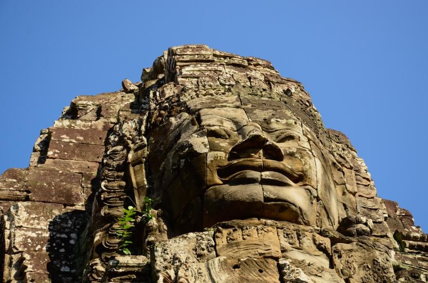 Khmer smile angkor thom