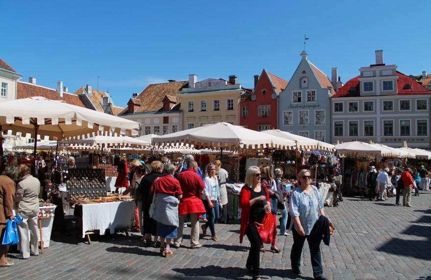 old city center tallinn