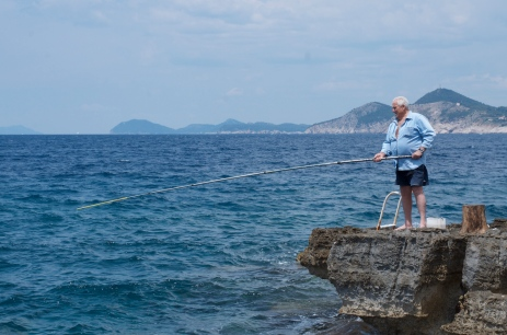 My big fish must be somewhere. -Croatia