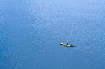 solo canoe croatia
