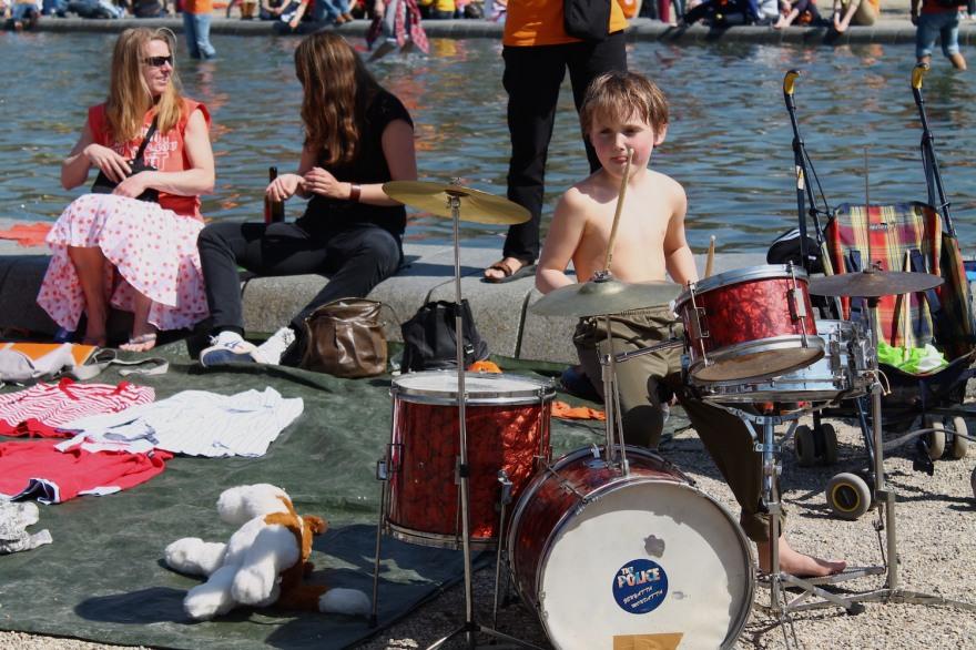 upcoming Dutch drummer