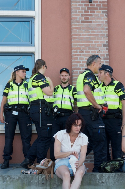 Humans of Sail2015: Dutch police