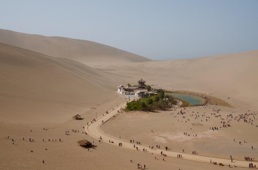 cresent lake dunhuang