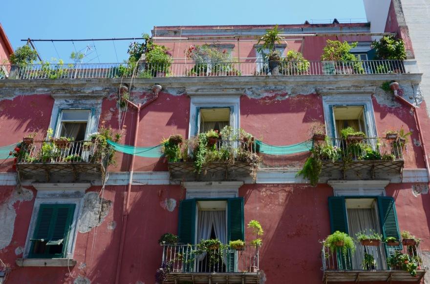 neapolitan balconies