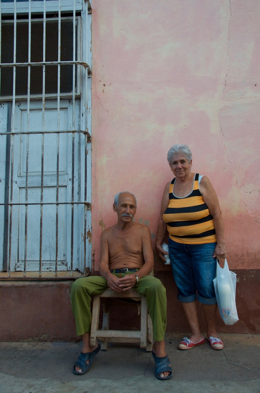 cuban old couple