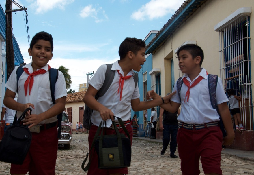 cuban pupils after school
