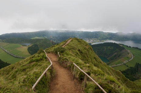 In the end, we only regret the chances we didn't take. -Sete Cidades
