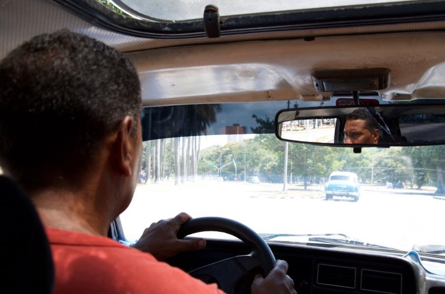 taxi driver havana