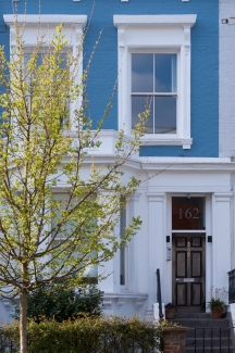 london spring blue housejpg