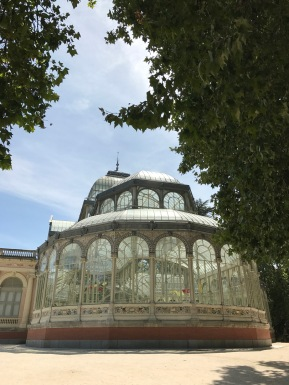 crystal palace in madrid